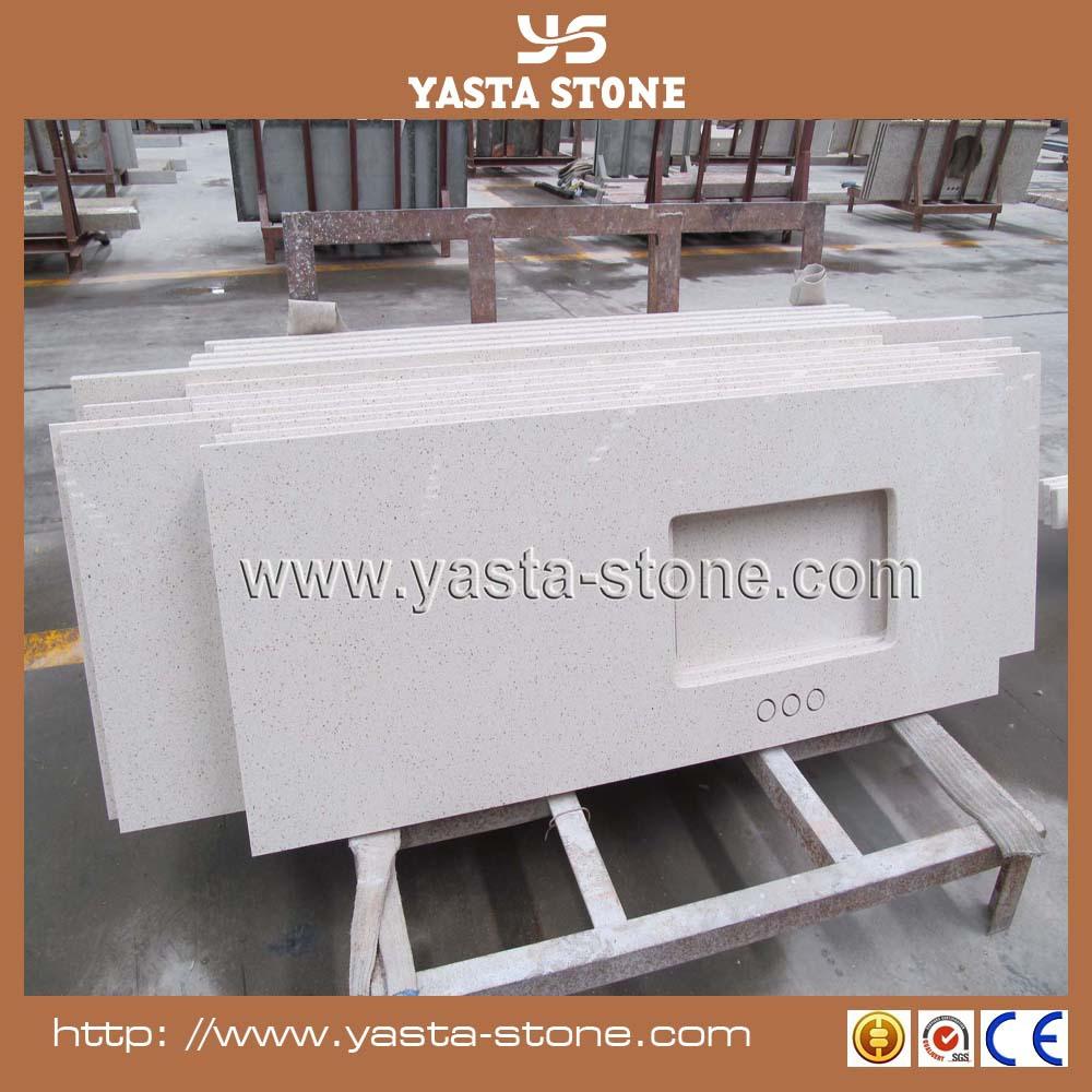 Countertop Quality : High Quality White Artificial Quartz Countertop Wholesale, View Quartz ...