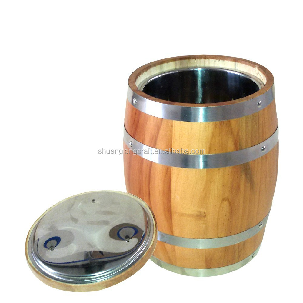 Wooden Ice Cooler <strong>Barrel</strong> Bucket