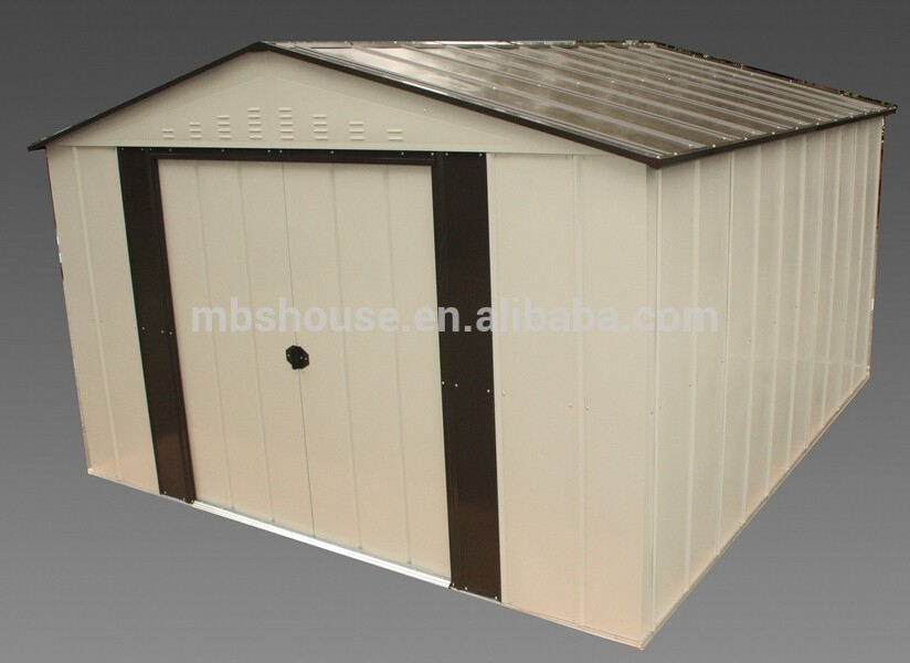 Durable iron sheet houses metal garden shed iron for Durable sheds