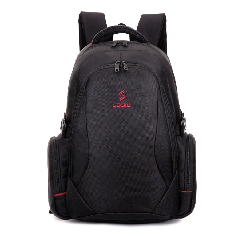 High quanlity 1680D strong business bag 17 inch waterproof laptop backpack
