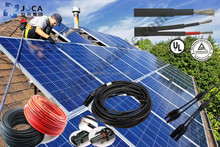 PV cable 2x4sqmm twin cable for home solar system & power station-----TSJ