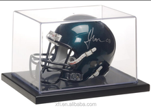 Top Quality High Transparent Clear Football Helmet Display Acrylic Case