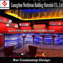 cool light bar counter top /night bar club led counter