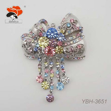 admirable beauteous charming dazzling elegant fair alloy rhinestone brooch