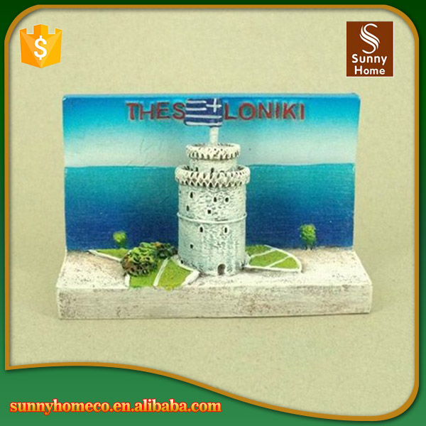 SGS Hot selling thessaloniki promotional fridge magnet