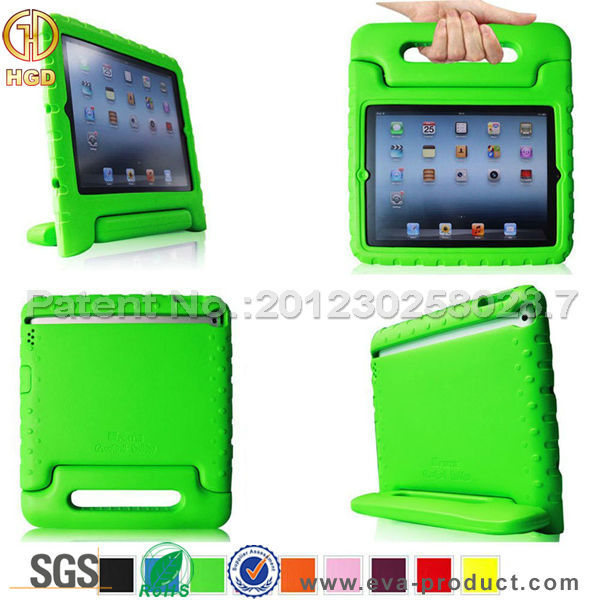 2015 Wholesale newest fancy EVA foam cover custom case for iPad 3