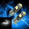 Super White T10 3SMD 5050 LED Interior Light Bulb 194 168 Canbus Error Free automobile scooter