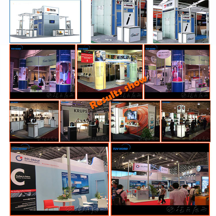 Aluminum trade show booth truss display trade show display modular booth