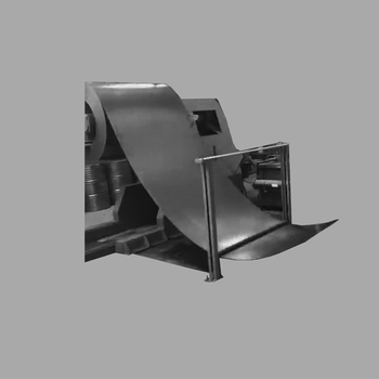 Steel Drum Material guide device for steel drum making