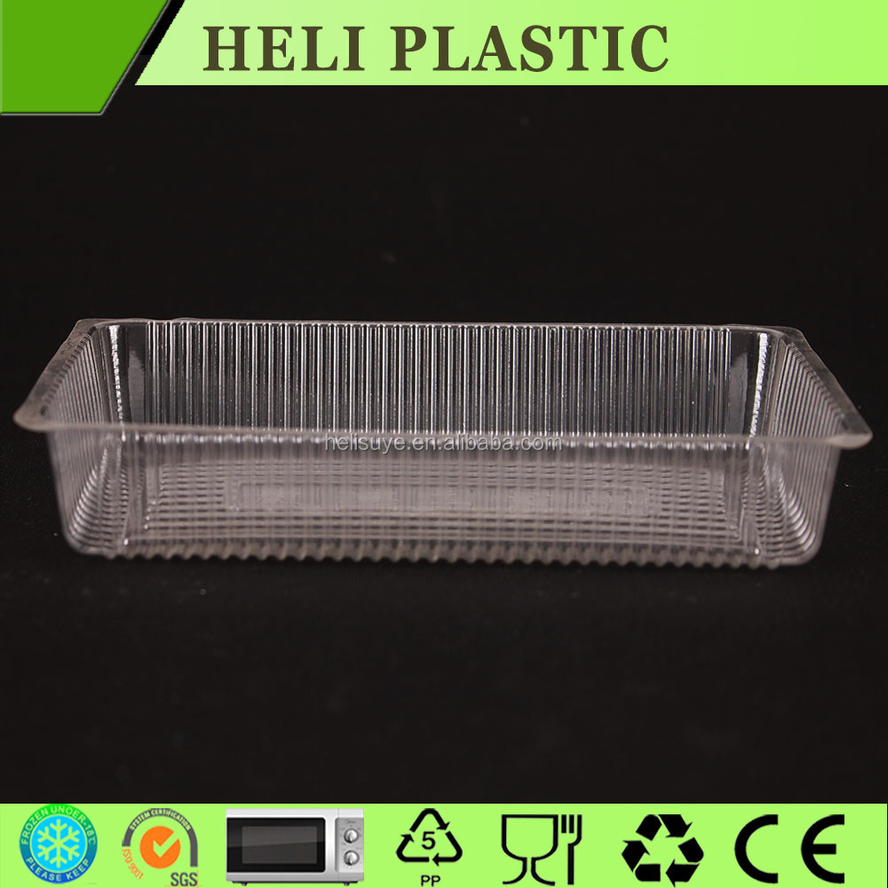 PET PP frozen fresh-cut plastic type fruit and vegetable container/tray