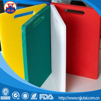 Household colored pp cutting board/hdpe sheet