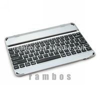 Ultra Slim Wireless Bluetooth Aluminum Keyboard Case for iPad air for iPad 5