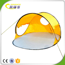 Carries 3 Square Metres Polyester Customized Outdoor Family folding pop up camping beach shade tent