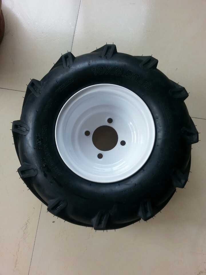 Wheels and Tyres, lawn tractor chevron tread, to suit Westwood/countax etc.
