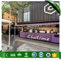 Low Cost Easy To Install Container Cafe 20Ft