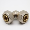 Hot Sale Half-plated Brass Compress Fitting FOR Plumbing system