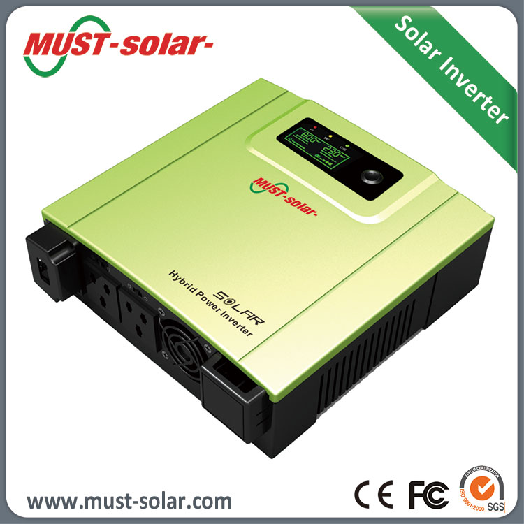 Built-In 30A or 50A PWM Solar Charge Controller 660w 800w 1440w DC to AC Home System Solar Power Inverter