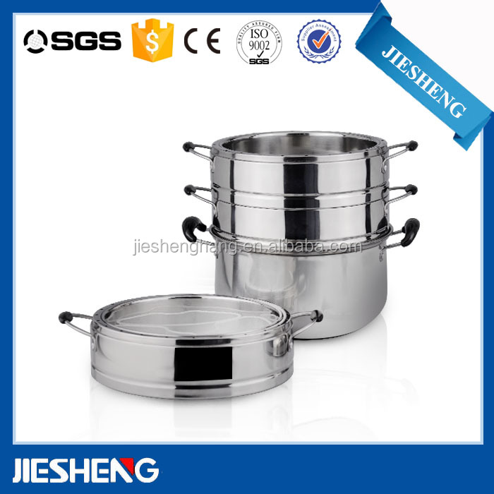 kitchen portable food steamer with lid