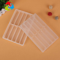 Food Grade Rectangular PP Disposable Plastic Biscuit Tray