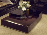 2014 Divany modern hexagonal coffee table touch screen coffee table T-55A-B