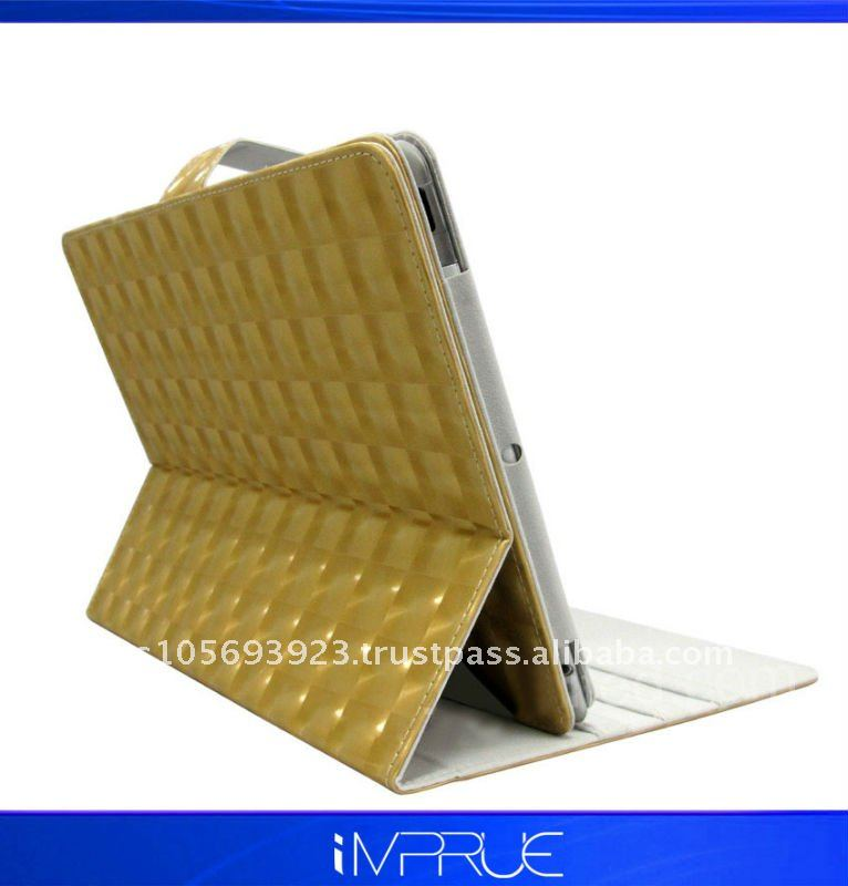 Christmas Models!! leather stand holder for ipad2 with high quality