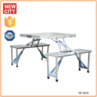 Suitable for camping silver folding ironing table