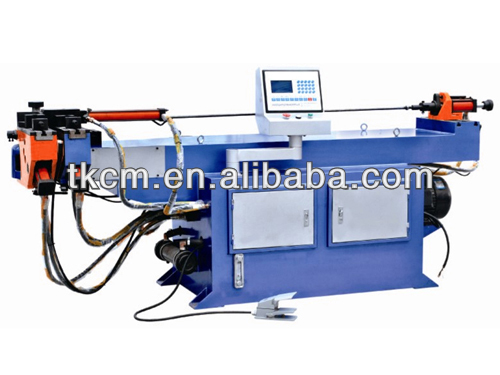 Manual type processing metal double head pipe bending machine