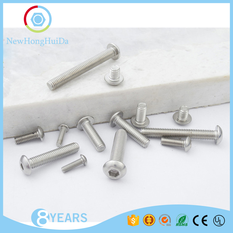 Volume produce best quality M2 sizes pan head hex socket machine <strong>screws</strong>