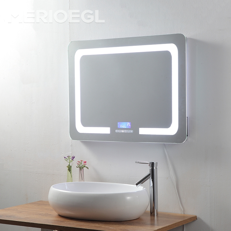 Modern Led backlit makeup mirror, led mirror bathroom, bathroom lighted mirror