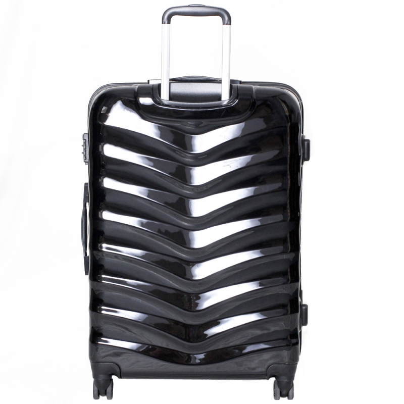 ABS PC Hardside Luggage set 20 24 28 Hard Shell Spinner Rolling Suitcase 4 Wheels Spinner Trolley Bag