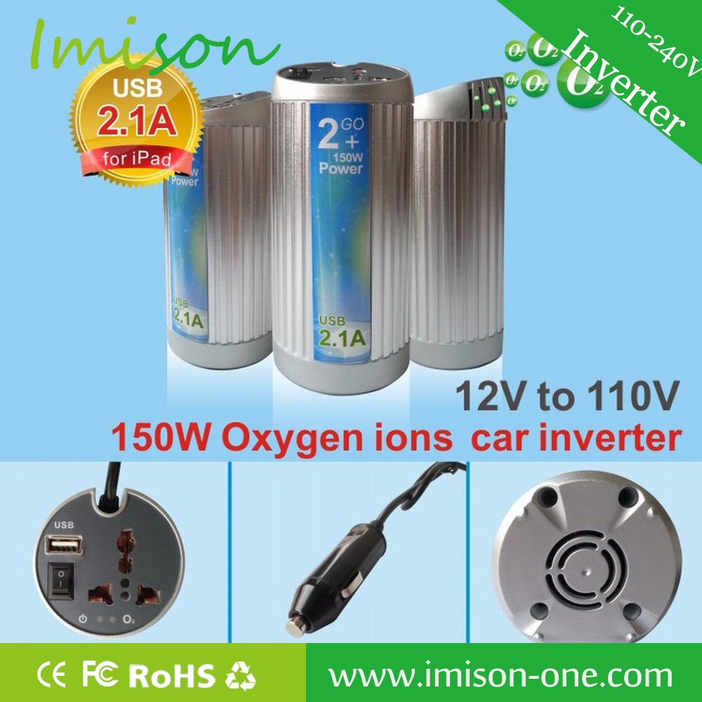 New model 12v 150w car power inverter with charger