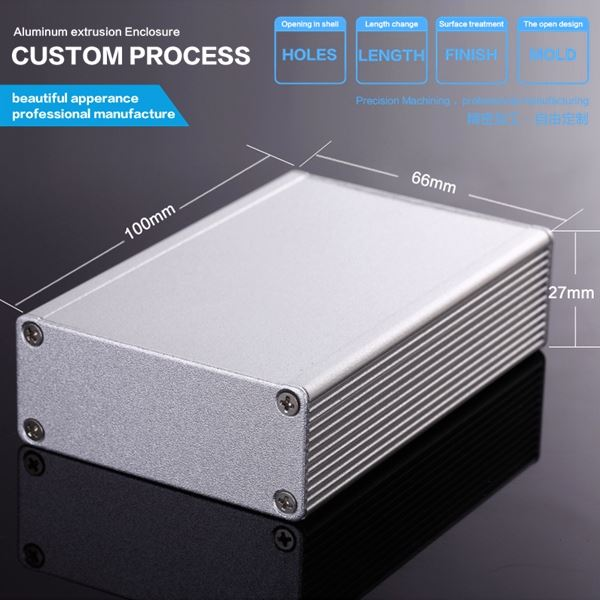 DIY PCB aluminum project box case aluminum box enclosure electronics