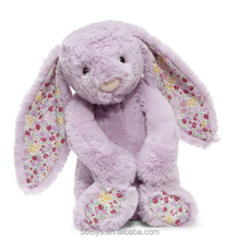 Free sample custom soft cheap long ear stuffed plush bunny