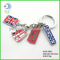 Promotional Custom cheap car logo keychain with high quality