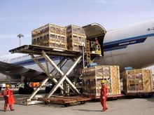 Cheap air freight shipping rate, door to door services from China to Chicago