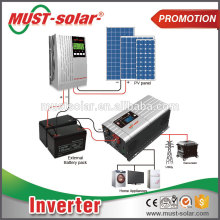 Power star frequency converter inverter solar power system dc to ac pure sine wave inverter for sale