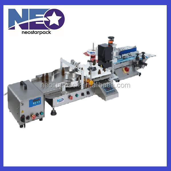Tabletop Bottle Feeding, Filling, Capping, Labeling Compact Line/ Auto production line