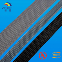Plastic PET Braided Expandable Wire loom Electric Cable Sleeving