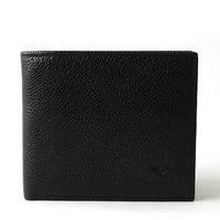 Luxury leather wallet mens fashion card holder wallet made in china