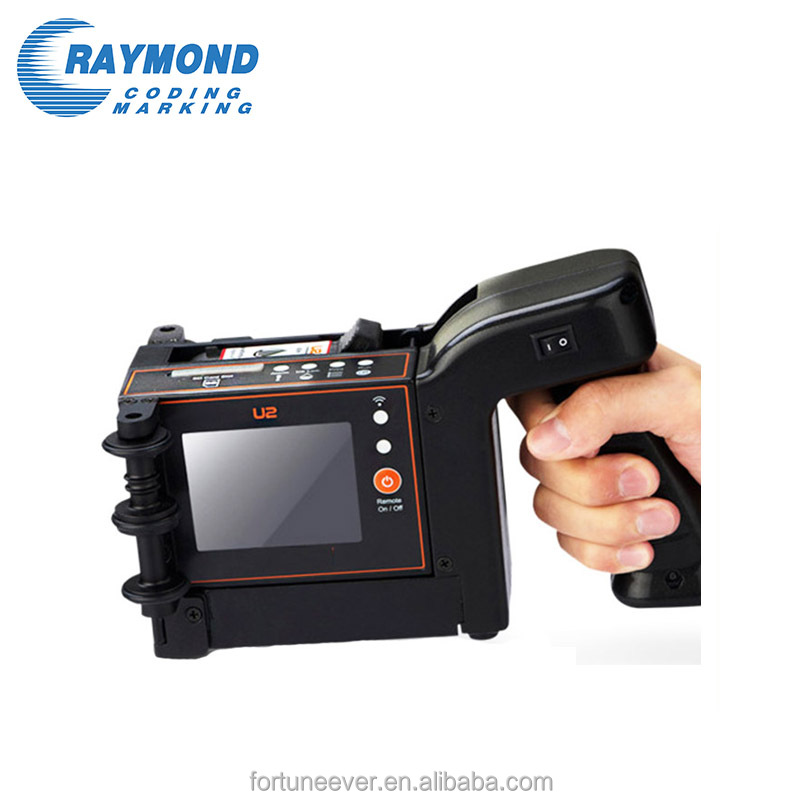 ink jet coding machine plastic packaging date handheld inkjet printer
