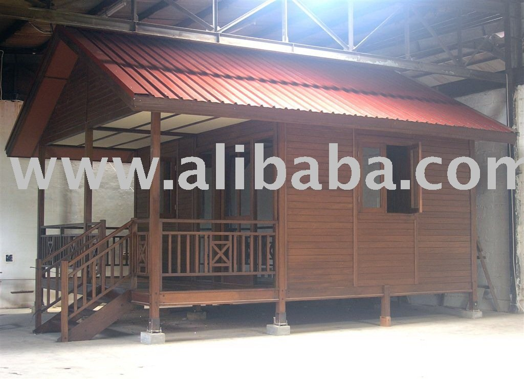 Prefab Knock Down Wooden Houses And Club Rooms