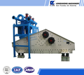 Waste gangue materials dewatering separator screen
