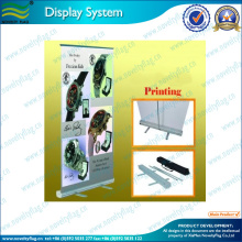 custom standing scrolling roll up banner stand