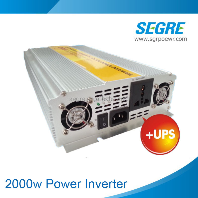 dc24v ac220v modified sine wave 2000w inverter charger