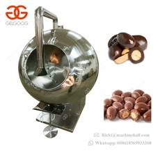 Stainless Steel Automatic Pill Almond Nuts Sugar Popcorn Candy Coating Pan Small Peanut Chocolate Coating Machine Price