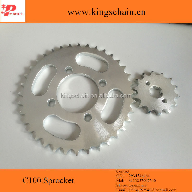 Cheap <strong>C100</strong> Chain & <strong>sprocket</strong> sets for Cambodia