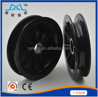 China manufacturer forklift part pulley wheel
