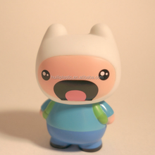 OEM design 3'' plastic Adventure Time Human Vinyl Toy