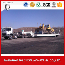 POWERCHINA new 120 tons mining semi-trailer 16 wheels cheap price