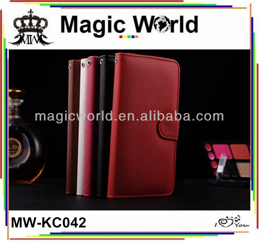 Wallet cellphone leather case for iphone 5g